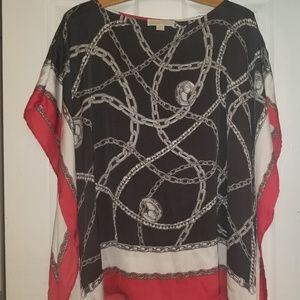 Michael Kors Poncho Shirt